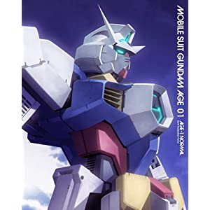 機動戦士ガンダムAGE 第1巻 【豪華版】(初回限定生産) [Blu-ray] (Amazon)