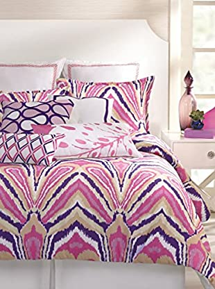 Trina Turk Residential Peacock Comforter 3-Piece Set