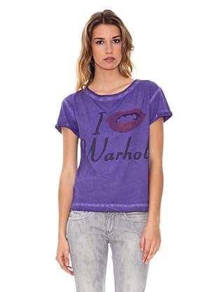 Andy Warhol Camiseta Lommel (Violeta)