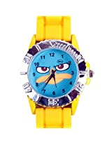 Phineas And Ferb Agent P Kids Analog Watch - Yellow