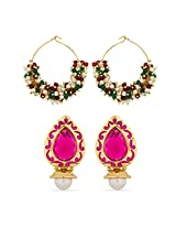 Classic Wear Designer Earrings for Women Combo-2249