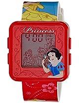 Disney Digital Multi-Color Dial Girls's Watch - PSSQ797-01A