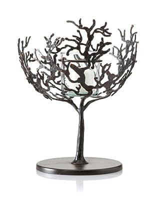 Sculptured Coral Tealight Holder