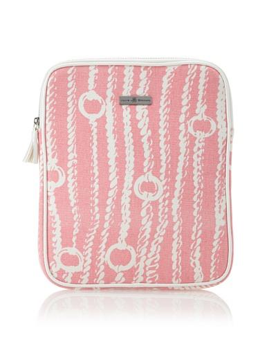 Julie Brown iPad Case (Pink Chains)
