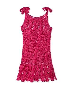 H. Maude Girl's Picnic Posse Dress (Fuchsia)
