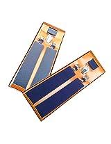 Sunshopping men's red and purple seuspender(WSDWSDSC00024) (grey & navy blue)
