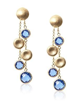 Rivka Friedman Poppy Crystal Pebble Earrings