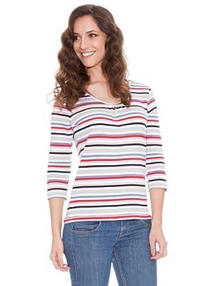 Tulchan Camiseta multi Stripe (azul marino multi)