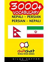 3000+ Nepali - Persian Persian - Nepali Vocabulary