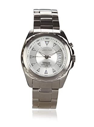 J Springs by Seiko Men's Perpetual Calendar Silver/White Stainless Steel Watch