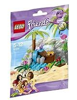 Lego Friends Turtle's Little Paradise, Multi Color