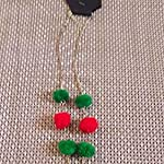 Green Non-Precious Metal Fashion Necklace