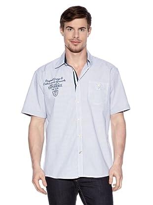Tom Tailor Camisa Casual (Azul deep denim)