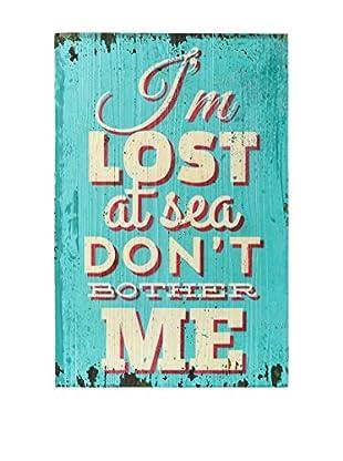 CALIFORNIA SURF Holztafel Lost türkis