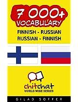 7000+ Finnish - Russian Russian - Finnish Vocabulary (ChitChat WorldWide) (Finnish Edition)