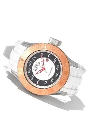 Invicta 11937 - Reloj de Caballero cuarzo poliuretano Blanco