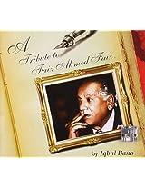 A Tribute to Faiz Ahmed Faiz