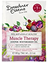 Dresdner Essenz Bath Salts with Natural Essential Oils (Muscle Therapy)