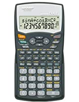 Sharp EL-531WHBK Scientific Calculator