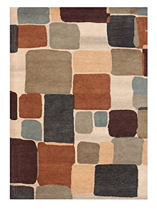 Mili Designs NYC Tiled Rug, 5' x 8'