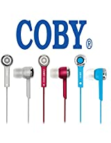 Genuine COBY JAMMERZ Universal Handfree 3.5mm Jack for Samsung Galaxy Core Prime Mobile - Blue