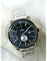 Rado Black Dialler Watch