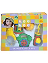 Mee Mee Rattles Set, Multi Color (5 Piece)