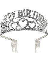 Forum Novelties Happy Birthday Glitter Tiara