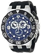 Swiss Legend Men's 10125-03 Challenger Analog Display Swiss Quartz Black Watch
