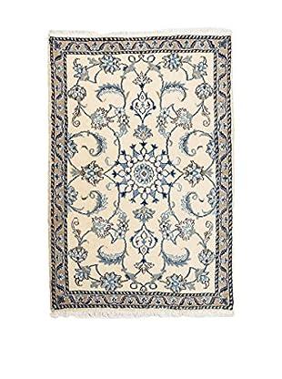 QURAMA Alfombra Persian Nain Beige/Azul