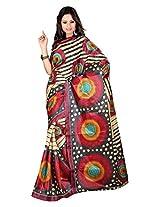 Parichay Women's Silk Saree(Maroon)