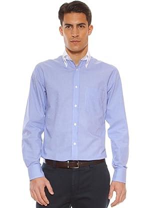 Hackett Camisa Cuadros (Morado / Blanco)