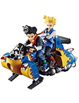 Megahouse Dragon Ball Z: Real McCoy Androids #17 & #18 Desktop Statue