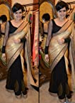 Indian Bollywood Actress Mandira Bedi Replica Beautiful Party Wear & Wedding Wear Saree sari