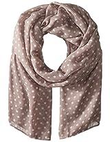 Saro Lifestyle Women's Polka Dot Design Shawl, Heather, One Size