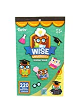 WeGlow International Wise University Sticker Book (4 Books)