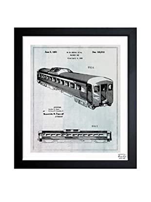 Oliver Gal Railway Car, 1951 Framed Giclée