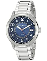 Tommy Bahama  Men's 10022438 Island Scout Analog Display Japanese Quartz Silver Watch
