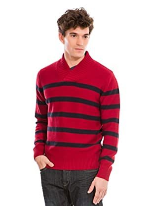 Springfield Pullover (Rot/Blau)