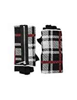 Betsey Johnson Women's Clash of the Tartans Half-Finger Glove Black One Size