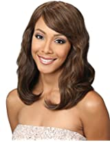 Bobbi Boss Maxxim Human Hair Blend Wig Mb1300 Kia (2 Dark Brown)