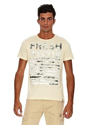 The Fresh Brand Camiseta (Crema)