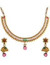 Dishi imitation jewellery gold plated necklace set Charm jewellery set for Women