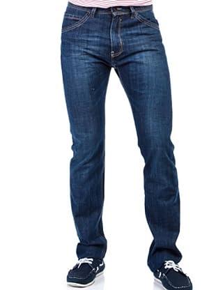 Cortefiel Pantalón Regular Slim (Azul Oscuro)