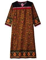 Vishudh Women's Cotton Straight Kurta