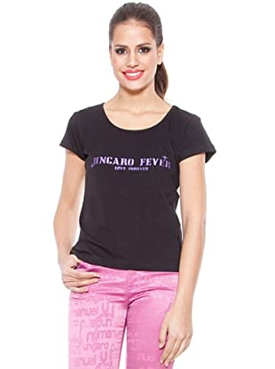 Ungaro Camiseta Print (Negro)