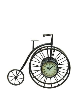 Metal Penny Farthing Clock