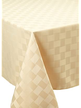Bardwil Reflections Oblong Tablecloth (Straw)