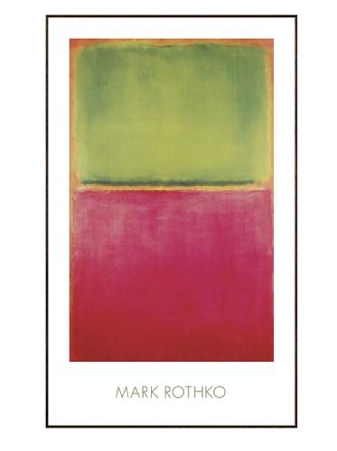 Rothko - Green Red on Orange, 1951, 38.25