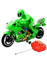 13Inch Ben Ten 10 Bike Scooter Radio Remote Control RC Racing Car Kids Toys Toy -130